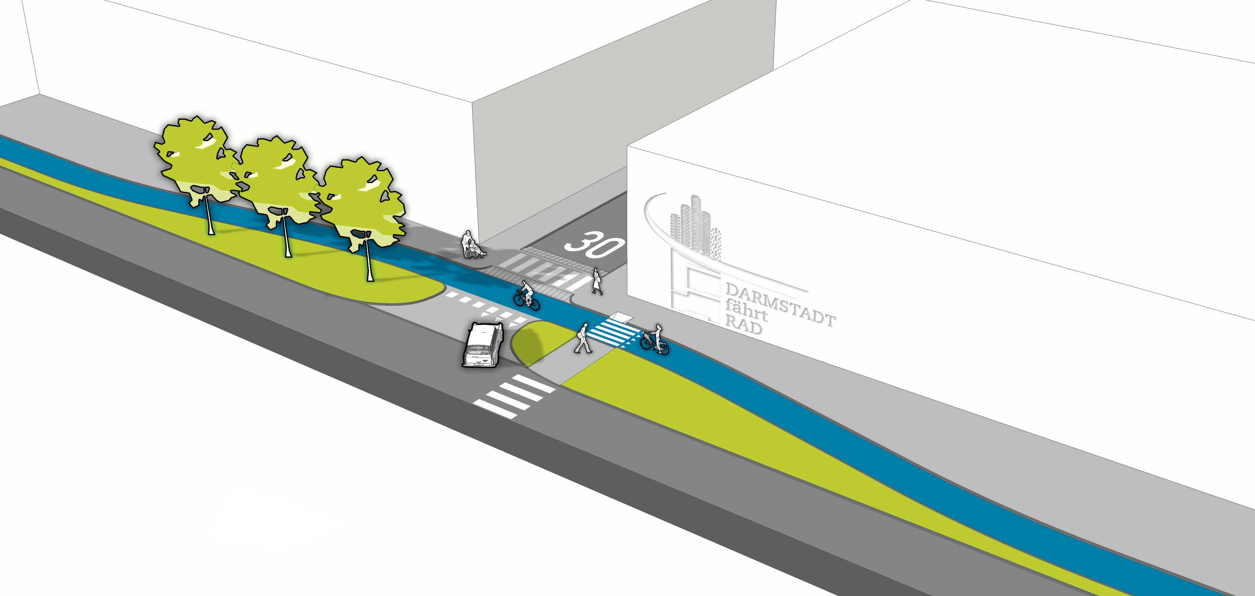 Aufpflasterung_Fahrbahnniveau