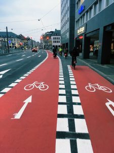 Fahrradweiche
