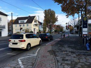 Kreuzung Bismarckstr