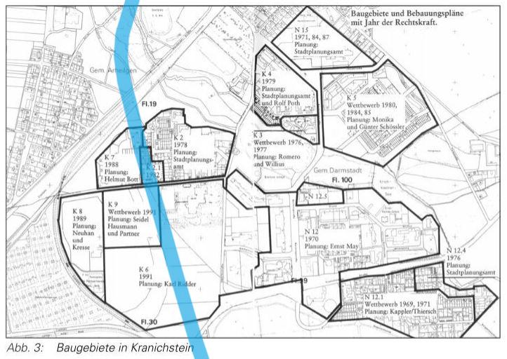 Lageplan Kranichstein